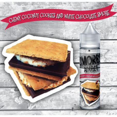 copy of Smores Addict Classic Chocolate Chip and Graham Crackers Smore (Scomposto) 20ML